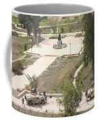 U.s. Military Soldiers Take A Well Coffee Mug by Terry Moore