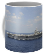Uss Abraham Lincoln Transits The Indian Coffee Mug