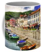 Village On The Lake Front Coffee Mug