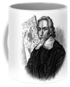 William Harvey, English Physician Coffee Mug by Science Source