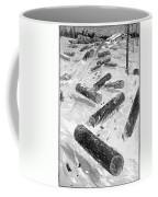 Wisconsin: Lumbering, 1885 Coffee Mug