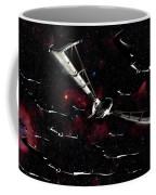 Xeelee Nightfighters, Inspired Coffee Mug by Rhys Taylor