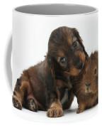 Puppy And Guinea Pig Coffee Mug