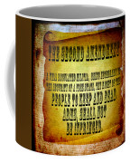 2nd Amendment Coffee Mug