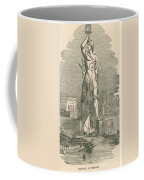 7 Wonders Of The World, Colossus Coffee Mug by Photo Researchers