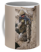 A German Army Soldier Armed With A M4 Coffee Mug