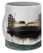 A Landing Craft Air Cushion Approaches Coffee Mug