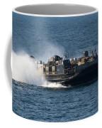 A Landing Craft Air Cushion Transits Coffee Mug