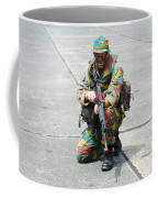 A Paratrooper Of The Belgian Army Coffee Mug