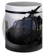 A Uh-60 Black Hawk Helicopter Coffee Mug