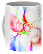 Abstract Of Circle  Coffee Mug by Setsiri Silapasuwanchai