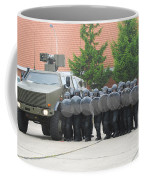 Belgian Infantry Soldiers Training Coffee Mug
