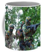 Belgian Paratroopers Proceeding Coffee Mug