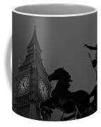 Big Ben And Boudica Statue Coffee Mug