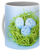 Blue Easter Eggs  Coffee Mug