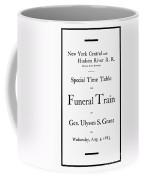 Burial Of Ulysses S. Grant Coffee Mug