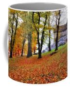 Castle In Autumn Coffee Mug