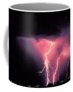 Cloud-to-ground Lightning Coffee Mug