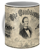Confederate Banknote Coffee Mug