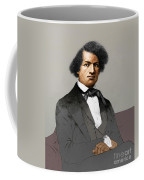 Frederick Douglass, African-american Coffee Mug by Photo Researchers