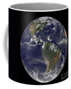 Full Earth Showing North America Coffee Mug by Stocktrek Images