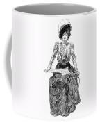 Gibson Girl, 1899 Coffee Mug