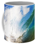Glassy Breaking Wave Coffee Mug
