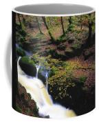 Glenmacnass Waterfall, Co Wicklow Coffee Mug
