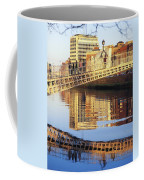Hapenny Bridge, River Liffey, Dublin Coffee Mug