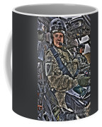 Hdr Image Of A Pilot Sitting Coffee Mug