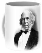 Herbert Spencer, English Polymath Coffee Mug