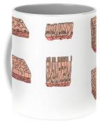 Illustration Of Epithelium Types Coffee Mug