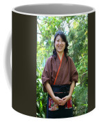 Japanese Women Coffee Mug