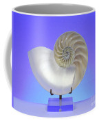 Logarithmic Spiral Coffee Mug by Photo Researchers, Inc.