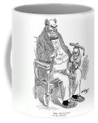 Mckinley Cartoon, 1900 Coffee Mug