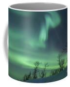 Northern Lights In The Arctic Coffee Mug