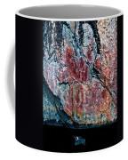 Painted Rocks At Hossa With Stone Age Paintings Coffee Mug
