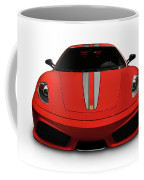 Red Ferrari F430 Scuderia Coffee Mug