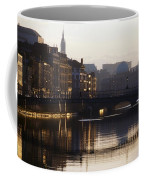 River Liffey, Dublin, Co Dublin, Ireland Coffee Mug