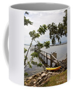 River Walk On The Indian River Lagoon Coffee Mug