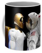 Robonaut 2, A Dexterous, Humanoid Coffee Mug by Stocktrek Images