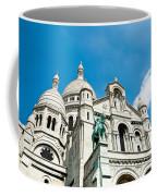 Sacre Coeur Basilica Paris France Coffee Mug
