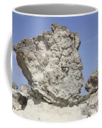 Sarakiniko White Tuff Formations Coffee Mug