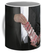 Shuffling Cards Coffee Mug