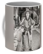 Silent Film Still: Guns Coffee Mug
