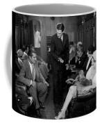 Silent Film Still: Trains Coffee Mug