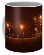 Sodium Vapor Lights On College Campus Coffee Mug