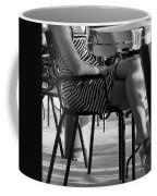 Stripped Dress Coffee Mug