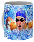 Swimmer Coffee Mug