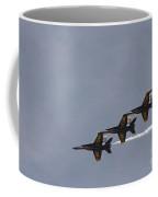 The Blue Angels Perform Aerial Coffee Mug